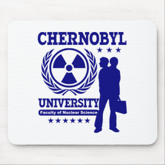 Chernobyl University Nuclear Science Mouse Pad