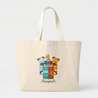 Chernolatecz Family Hungarian Coat of Arms Canvas Bags