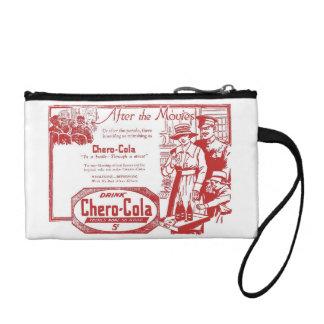Chero-Cola vintage drink advertisement Change Purse