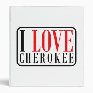 Cherokee, Alabama City Design 3 Ring Binder