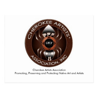 Cherokee Artists Association Post Card
