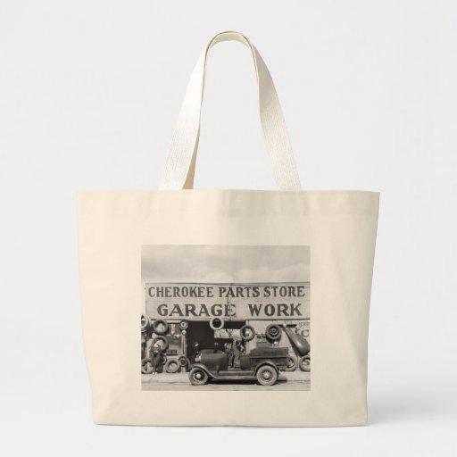 Cherokee Auto Parts: 1936 Jumbo Tote Bag