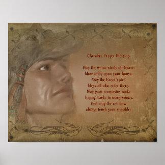 Cherokee Blessing Native American Prayer Posters