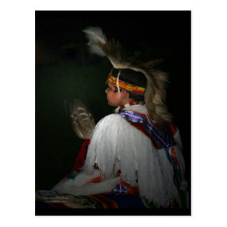 Cherokee Boy Post Card