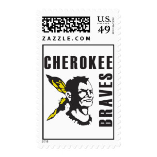 CHEROKEE BRAVES STAMPS