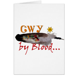 Cherokee by Blood Card