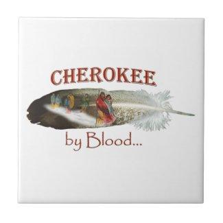 Cherokee by Blood Ceramic Tile