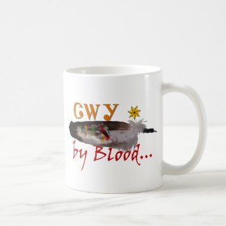 Cherokee by Blood Coffee Mug