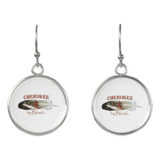 Cherokee by Blood Earrings