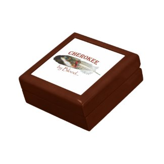 Cherokee by Blood Gift Box
