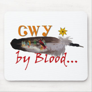 Cherokee by Blood Mouse Pad