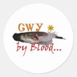 Cherokee by Blood Sticker