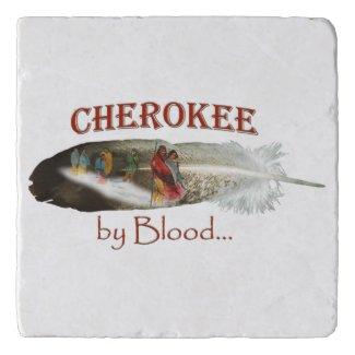 Cherokee by Blood Trivet