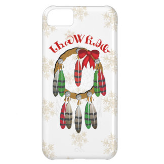 Cherokee Christmas Dream Catcher Case For iPhone 5C