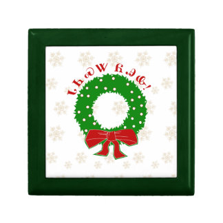 Cherokee Christmas Wreath Gift Box
