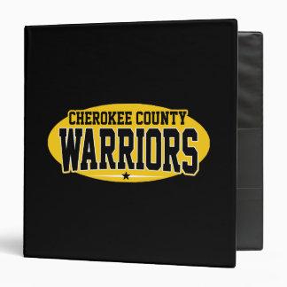 Cherokee County; Warriors Binders