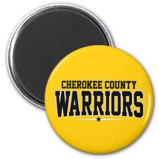 Cherokee County; Warriors Magnet