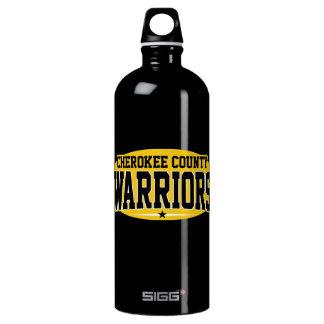 Cherokee County; Warriors Water Bottle