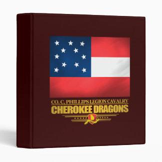 Cherokee Dragons Vinyl Binders