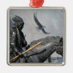 Cherokee & Eagle Ornament