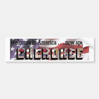 Cherokee Etiqueta De Parachoque