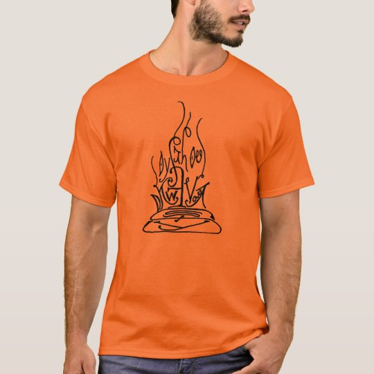 Cherokee fire shirt (color - basic t)