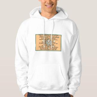 cherokee flag-prayer hoodie