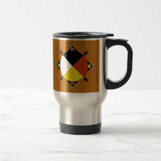Cherokee Four Directions Travel Mug