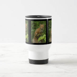 Cherokee Fox Beautiful PhotoTravel Mug