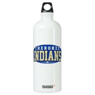 Cherokee High School; Indians Water Bottle