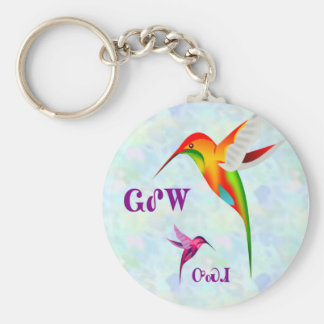 Cherokee Hummingbird Keychain