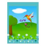 Cherokee Hummingbird Postcard