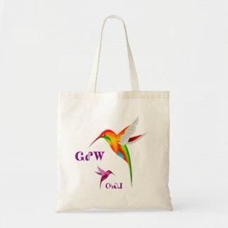 Cherokee Hummingbird Tote Bag