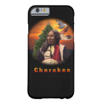 Cherokee Indian art Barely There iPhone 6 Case