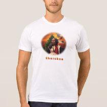 Cherokee Indian art T-shirts