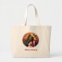 Cherokee Indian art Tote Bag