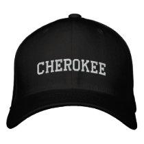 Cherokee Indian Embroidered Baseball Caps