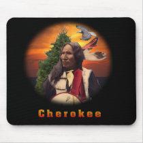 Cherokee indian mousepads