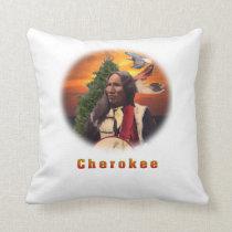 Cherokee indian pillow