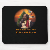 Cherokee Indian products Mouse Pads