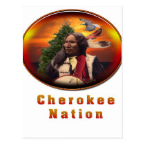 Cherokee Indian products Post Cards