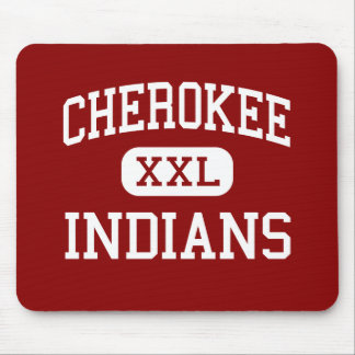 Cherokee - Indians - Middle - Springfield Missouri Mouse Pad