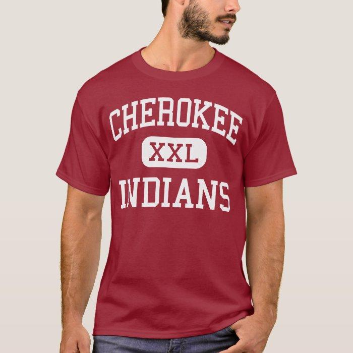 cherokee indians middle springfield missouri t shirt