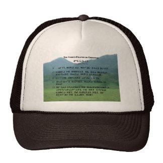 Cherokee Lord's Prayer at Wolf Fork Valley Trucker Hat