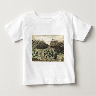 Cherokee Pass Rocky Mountains by Daniel A. Jenks Baby T-Shirt