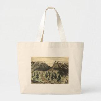 Cherokee Pass Rocky Mountains by Daniel A. Jenks Canvas Bag