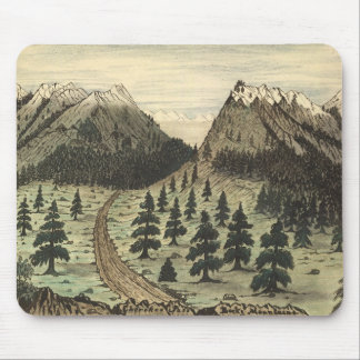 Cherokee Pass Rocky Mountains by Daniel A. Jenks Mouse Pad