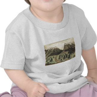 Cherokee Pass Rocky Mountains by Daniel A. Jenks Shirts