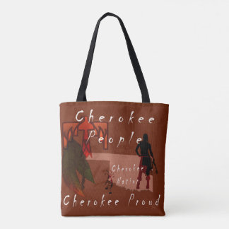 Cherokee People Tote Bag