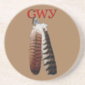 Cherokee Pride Beverage Coaster